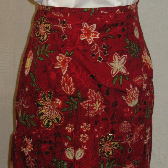 875442d4d6297 White Stag Ladies Straight Lined Skirt Sequined